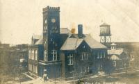 Maysville, Built 1885 with remodeled tower after lightning strike in 1900s