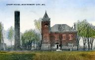 Montgomery City, Built 1889, Contr- R. A. Sharp, C. P. & John Evered and August Stanhardt.
