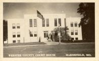 Marshfield, Built 1940, Arch- Earl Hawkins, Contr- Earl Hawkins and Engineer- L. J. McAdams (WPA)