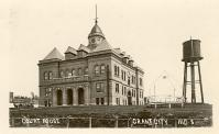 Grant City, Built 1899, Arch- Fremont C. Orff and Ernest F. Guilbert, Contr- Stansbeery Press Brick Co.