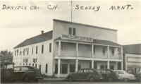 Scobey, Built 1913, Originally the Commercial Hotel with 1927 addition
