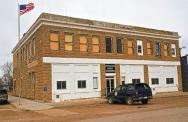 Winnett, 1930 converted store built in 1917., Arch/Contr- Walter Winnett. (Card made by Bryan D. Spellman with RedBubble)
