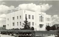 Plentywood, Built 1936, Arch- J. G. Link and Edwin G. Osgood, Contr- WPA