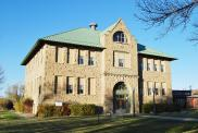 *Harlowton, 1937 Remodeling, Arch- Angus V. McIver, of 1910 school, Arch- John Hackett Kent, Contr- Richard E. Wright.