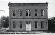 Niobarra, Former courthouse site, Built 1886, Arch- George G. Bayha, Contr- Bayha Bros. Razed-1976