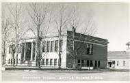 Battle Mountain, In 1979, converted former 1916 grammar school, Arch- Frederick J. DeLongchamps, Remodel