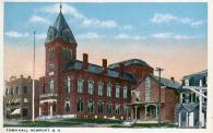 Newport, Built 1872, Arch-Edward Dow, Contr- Wallace L Dow Co., Rebuilt 1886 after 1885 Fire, Contr- Hira R. Beckwith