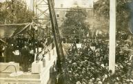 Bridgeton, Cornerstone Being Layed in 1909