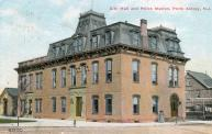 Perth Amboy, Built 1717 with additional renovations 1745, 1767, 1826, and 1872, Served as courthouse till 1797