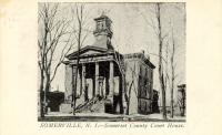 Somerville, Built 1799 with 1849 addition