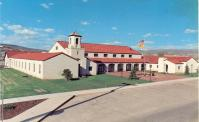 Grants, In 1981 converted Cibola Convention Authority Bldg. that also served earlier as Grants High School.