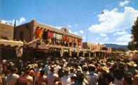 Taos, Built 1830, Rebuilt 1934 after fire, Arch- Louis G. Hesselden, Contr- L. H. Bovos (WPA)