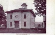 Angelica, Previous courthouse site, built 1823, Now town hall