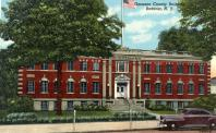 Batavia, Government Building, Built 1925, Arch- Bohacket & Brew, Contr- George W. Buchholts