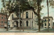Hudson Falls (formerly Sandy Hill, changed 1910), Courthouse built 1873, Arch- Marcus Cumming