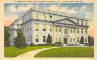 Waynesville, Built 1932, Arch- William G. Rogers & George N. Rhodes, Contr- Southeastern Constr. Co.