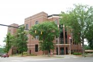 *Rockingham, Justice Center, Built 2009, Arch-  Ware Bonsall Architects, Contr- Bordeaux Constr. Co.