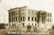 Towner, Being built 1908