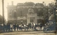 Norwalk, Ruins of courthouse fire, 1912