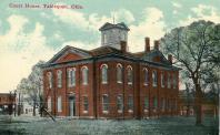 Tahlequah, Built 1869 as Cherokee capitol, Arch-C. W. Goodlander, Contr- James S. Price