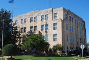 *Waurika, Built 1931, Arch- Layton, Hicks and Forsyth, Contr- W. L. Scott & Sons Constr. Co.