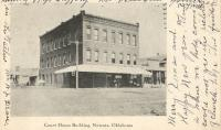 Nowata, First courthouse site