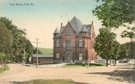 Troy, Satellite courthouse built in 1894, Arch- Culver & Hudson, Contr- Lawrence Bros. for use until 1900\