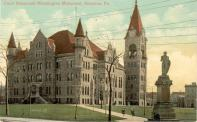 Scranton, Built 1884, Arch- Isaac G. Perry, Contr- John Snaith with 1896 addition, Arch/Contr- Taylor Lacy