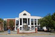 Moncks Corner, Present courthouse 1990 addition, Arch- LS3P Assoc. LTD.
