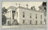 Walterboro, Built 1823, Arch- Robert Mills and William Jay, Contr- William Thomopson, Enlarged 1844 and 1916