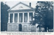 Kingstree, Built 1823, Arch- Robert Mills, Remodeled 1883 with 1901 addition