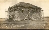 Bison, Being constructed in 1909