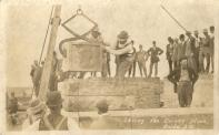 Oneida, Laying of cornerstone, 1911