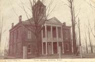 Dickson, Built 1899 as satellite courthouse. Razed 1928