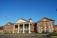 Jonesboro, George G. Jaynes Judicial Center, Built 2010, Arch- Ken Ross Architects Inc., Contr- Burwill Constr. Co.