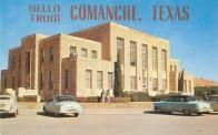 Comanche, Built 1940, Arch- Wyatt C. Hedrick, Contr- Tom Pate (WPA)