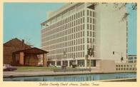 Dallas, George L. Allen Sr. Courts, Bldg, Built 1965, Arch- Associated Architects and Engineers, Contr- Granite Constr. Co.