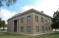*Carrizo Springs, Built 1884, Remodeled 1926, Arch- Henry T. Phelps, Contr- San Antonio Constr. Co.