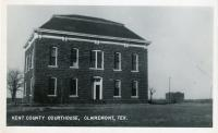 Clairemont, Former Courthouse Site, Built 1893 without cupola