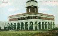 Vega, Temporary Courthouse in 1914