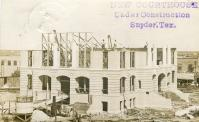 Snyder, Courthouse being built in 1911