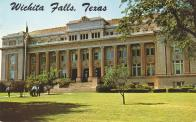 Wichita Falls, Built 1916 with 1957 addition, Arch- Jessie G. Dixon, Contr- C. L. Murph Constr. Co.