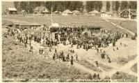 Okanogan, Laying of cornerstone, 1914