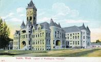 Olympia, Built 1892. Used as courthouse originally and then state capitol, Arch- W. A. Ritchie, Contr- Rigby & Evans