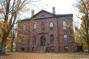 *Bayfield, Former courthouse, Built 1884, Arch/Contr- James Nader, Now visitor