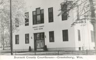 Grantsburg,  Former courthouse site, Built 1888 remodeled