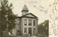 Grantsburg, Former courthouse site, Built 1888