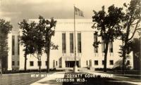 Oshkosh, Built 1938, Arch- Frenk Venning of Granger & Bollenbacher, Contr- Lundoff-Bicknell Co.